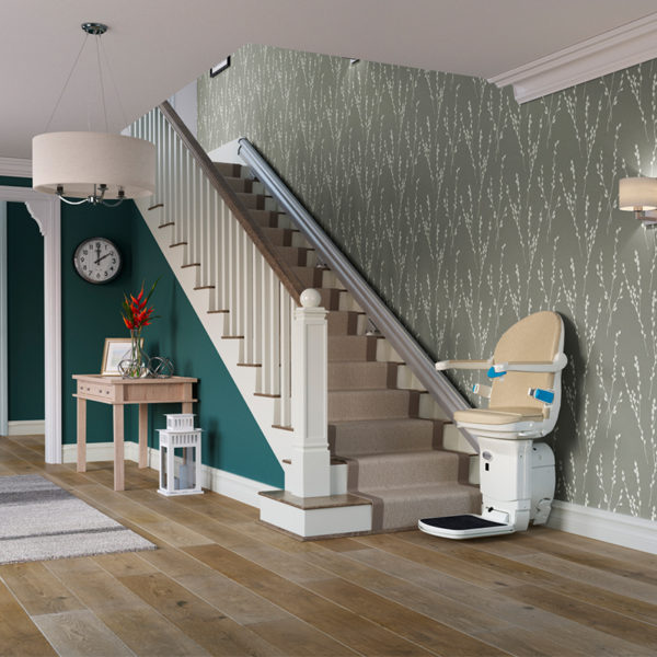 LOS ANGELES curved chair stairlift