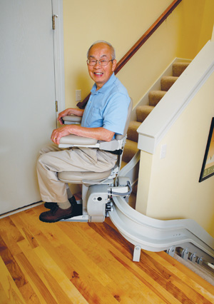 corona ca stair lifts curve stairlift los angeles ca Electra-Ride III
