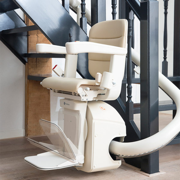 handicare freecurve 1000 curved stairlift ontario Ca.