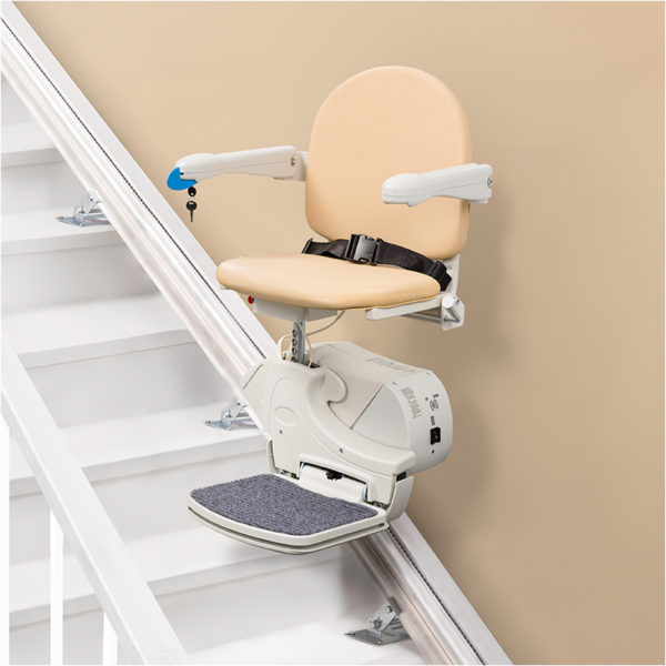 handicare straight rail staircase chairlift 950