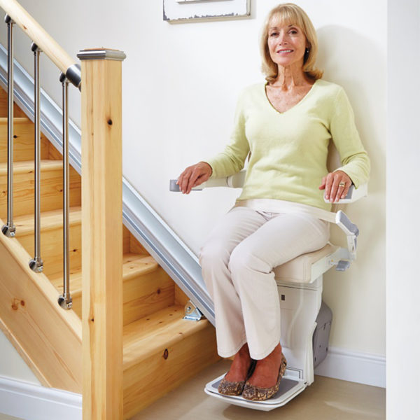 handicare xclusive staircase residential home riverside Ca. stairchair