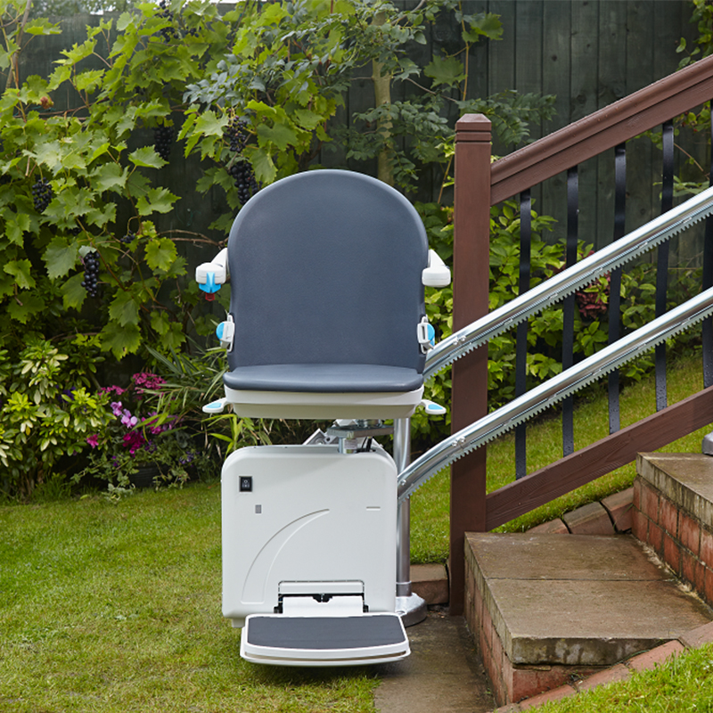 Los-Angeles Curved Stairlift Are Indoor Home Residential