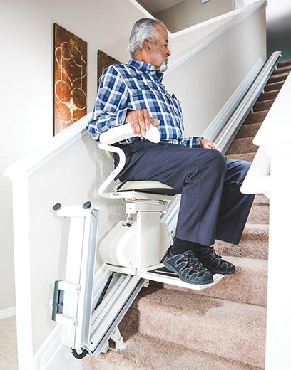los angeles indoor residential home straight rail liftchair