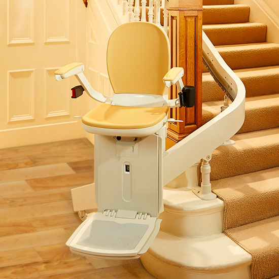 acorn 180 custom curved stairlifts san francisco ca