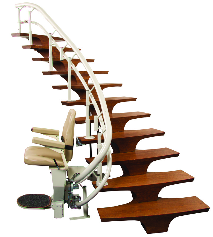harmar helix curved stair lift oakland ca stairchair